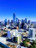 达拉斯,得克萨斯城市视图从团聚塔的 免版税图库摄影