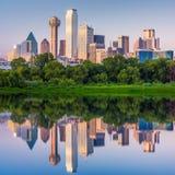 达拉斯,得克萨斯,美国地平线 免版税库存照片