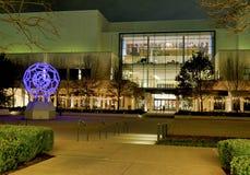 达拉斯Northpark购物中心在晚上 图库摄影