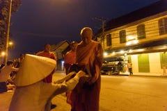 达棒,琅勃拉邦,老挝 库存图片