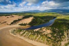 达比河,威尔逊` s海角,澳大利亚 免版税库存图片