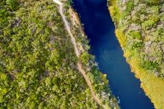 达比河,威尔逊` s海角,澳大利亚 图库摄影