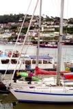 达特矛斯英国港口团结的王国船 库存图片