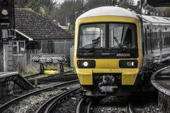 达特福德伦敦火车 图库摄影