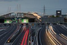达特福德河流桥渡 库存图片