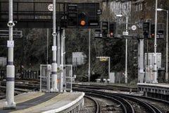 达特福德火车站 库存图片