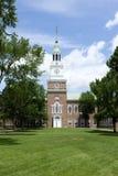 达特茅斯学院的贝克霍尔 免版税库存图片