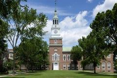 达特茅斯学院的贝克霍尔 免版税图库摄影