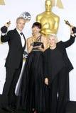 达米扬马丁, Elka Wardega和Lesley Vanderwalt 免版税图库摄影