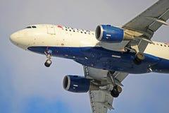 达美航空空中客车A319-100 N315NB 免版税库存照片