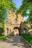 达翰姆城堡 库存图片