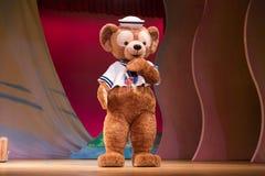 达菲迪斯尼熊在日本 库存照片