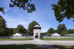 达豪纳粹集中营-德国 免版税库存图片