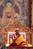 达赖喇嘛在圣何塞,加利福尼亚讲话 免版税库存照片
