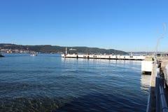 达达尼尔海峡码头 免版税库存图片