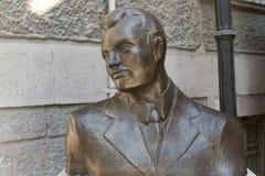 达里奥莫尔诺著名土耳其歌手雕象  免版税库存照片