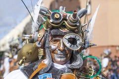 巴达霍斯狂欢节2016年 马戏团游行 免版税库存图片