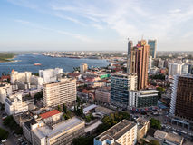 达累斯萨拉姆,坦桑尼亚的中心 免版税库存图片