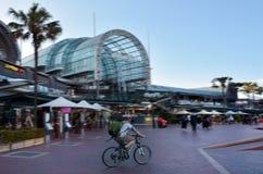 达令港悉尼新南威尔斯澳大利亚都市风景  库存图片