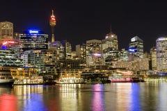 达令港悉尼 免版税库存照片