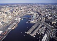 达令港悉尼 免版税图库摄影