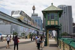 达令港,悉尼,澳大利亚 免版税库存图片
