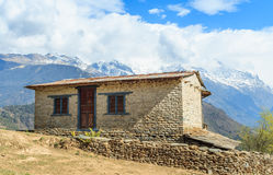 迁徙在尼泊尔 库存照片