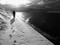 迁徙的冰川 库存图片