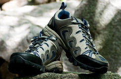 迁徙的鞋子 图库摄影