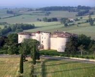 迅速增加在一个大别墅的乘驾在法国的南部 库存图片