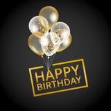 迅速增加愉快的生日 免版税库存图片