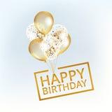 迅速增加愉快的生日 免版税图库摄影