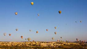 迅速增加cappadocia 免版税库存图片