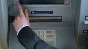 迅速撤出日元金钱现金,外币帐户的大忙人 影视素材