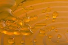 迅速橙色水 免版税库存照片