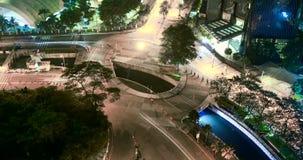 迅速移动高速公路环形交通枢纽英尺长度  影视素材