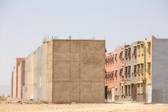 迅速都市发展和在摩洛哥增长 免版税库存图片