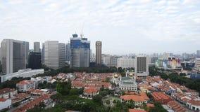 迅速移动在城市视图外面 股票视频