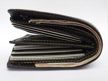 过度使用钱包 免版税库存照片
