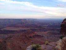 过时的问题点日落的国家公园 免版税图库摄影
