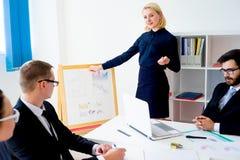 过程中企业的介绍 图库摄影