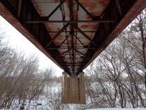 从过去的一座桥梁 图库摄影