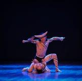 过份要求差事到迷宫现代舞蹈舞蹈动作设计者玛莎・葛兰姆里 免版税图库摄影