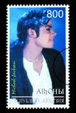 迈克尔・杰克逊邮票 库存图片