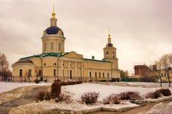迈克尔天使教会在Kolomna,俄罗斯 彩色照片 库存照片