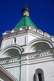 迈克尔天使教会 克里姆林宫在下诺夫哥罗德,俄罗斯 库存图片