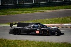 迈克尔小腿Ligier LMP2原型测试在蒙扎 库存照片