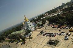 迈克尔的广场在基辅 免版税图库摄影
