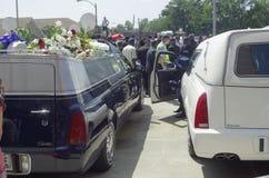 迈克尔・布朗葬礼 库存照片