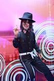 迈克尔・杰克逊的蜡象 库存图片